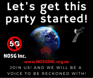 NO5G Inc to form first NO5G Political Party in the World!