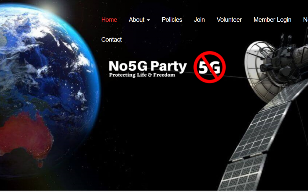 The No5G Political Party is here!